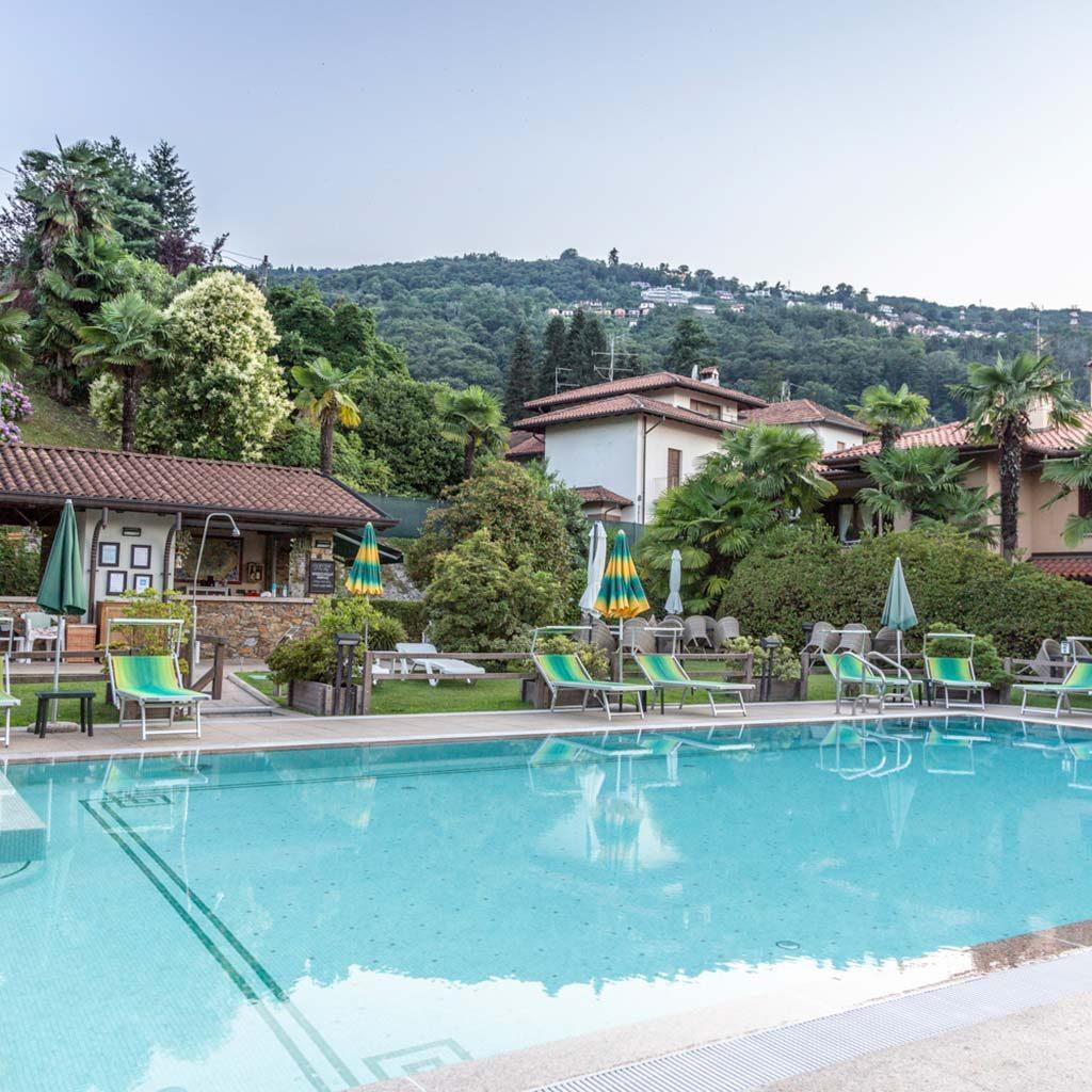 Pool Bar | Hotel Della Torre Stresa